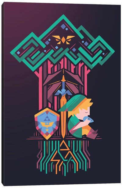 Guardians Link Canvas Art Print