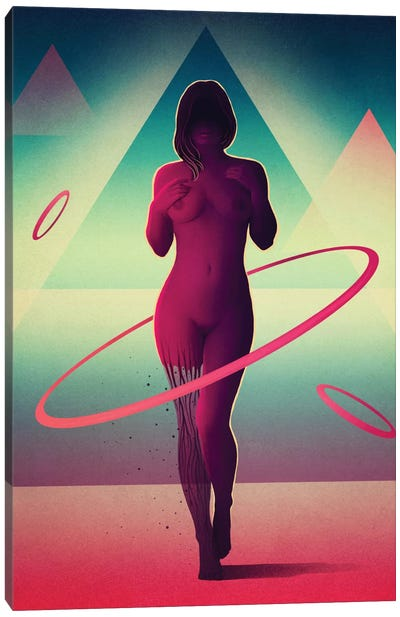 Atomos Canvas Art Print
