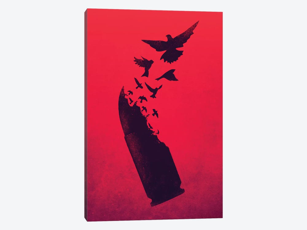 Bullet Birds by Victor Vercesi 1-piece Canvas Art Print