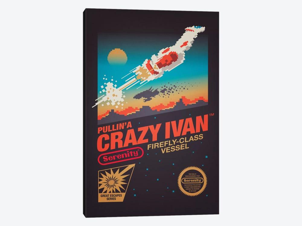 Crazy Ivan by Victor Vercesi 1-piece Canvas Artwork