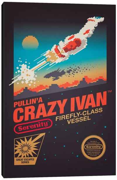 Crazy Ivan Canvas Art Print