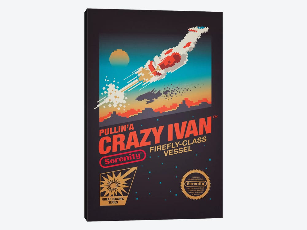 Crazy Ivan by Victor Vercesi 1-piece Canvas Artwork