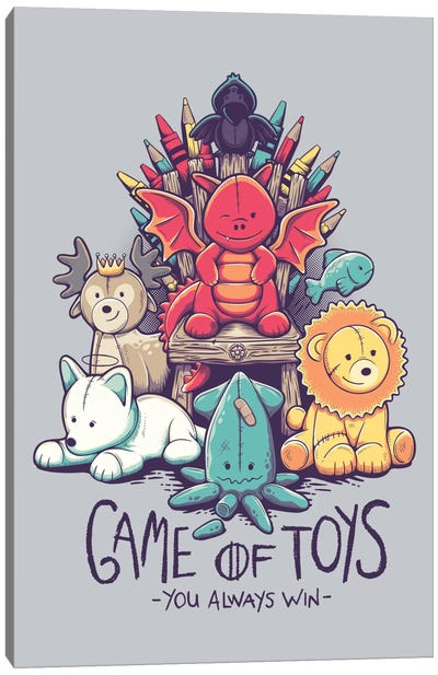 Game Of Toys Canvas Print #VIC6