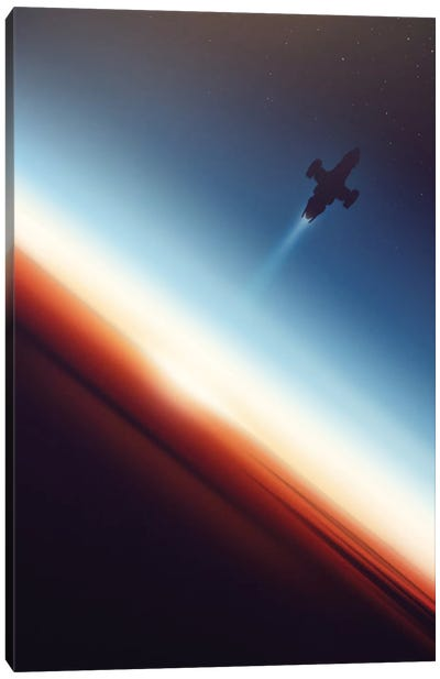 Into Space Canvas Art Print