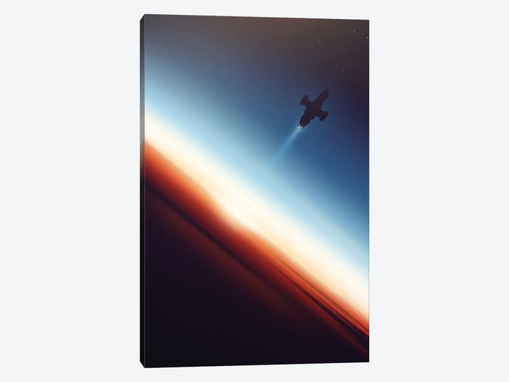 Into Space by Victor Vercesi 1-piece Canvas Art Print
