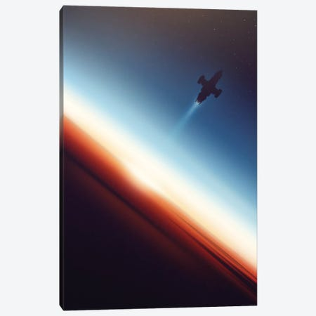 Into Space Canvas Print #VIC9} by Victor Vercesi Canvas Artwork