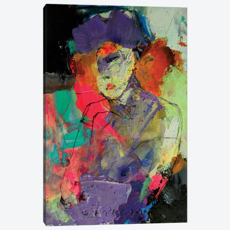 Unknown Lady Canvas Print #VIK11} by Viktor Sheleg Canvas Art Print