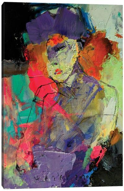 Unknown Lady Canvas Art Print