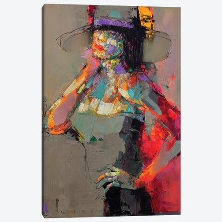 Lady Sharm Canvas Print #VIK13} by Viktor Sheleg Canvas Print