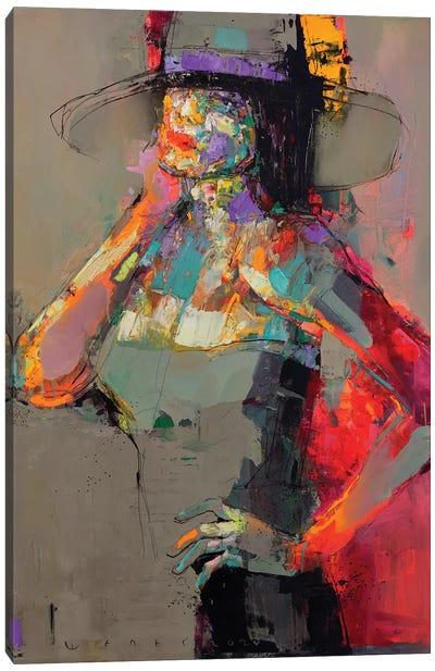 Lady Sharm Canvas Art Print
