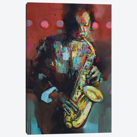 Flowing sound Canvas Print #VIK14} by Viktor Sheleg Canvas Wall Art