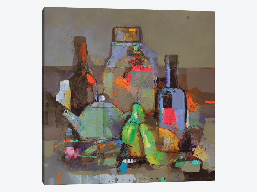 Evening still life by Viktor Sheleg 1-piece Canvas Art