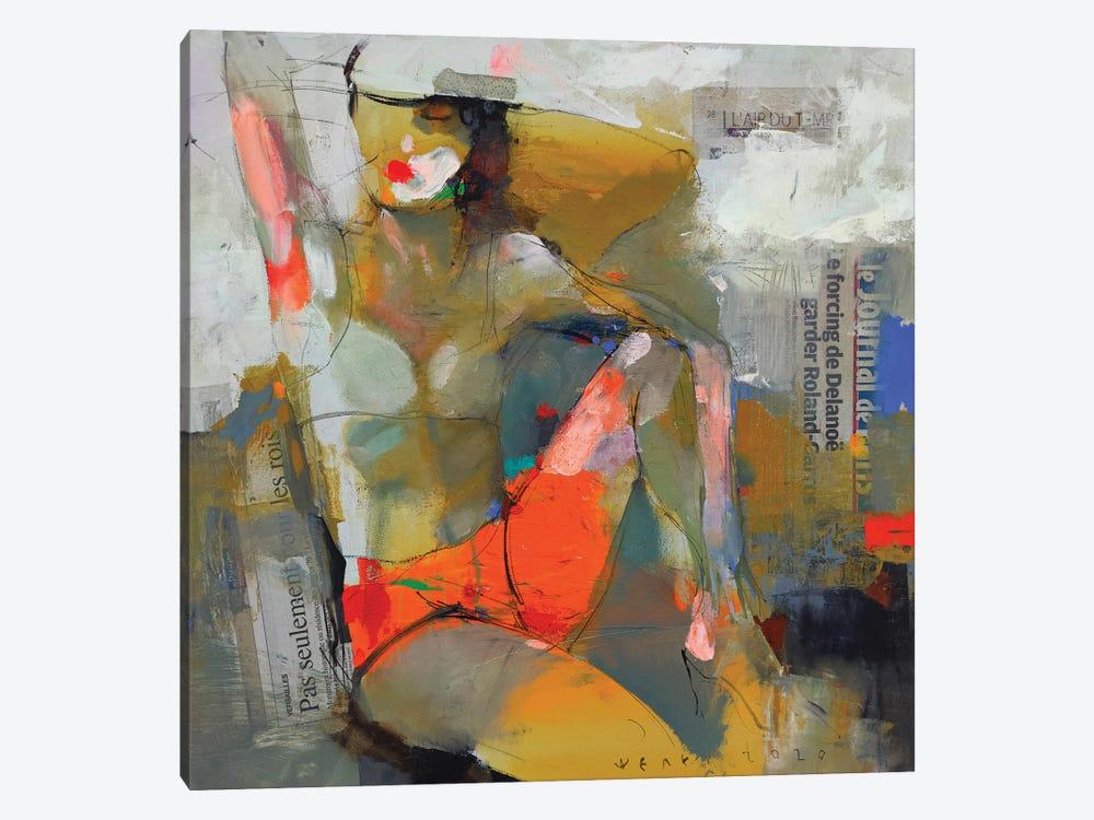 Beach theme by Viktor Sheleg 1-piece Canvas Art Print