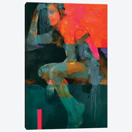 Heat Canvas Print #VIK2} by Viktor Sheleg Canvas Artwork