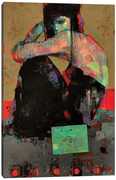 Letter Canvas Art Print