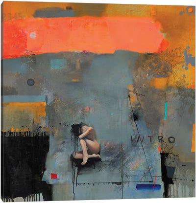 Intro Canvas Art Print