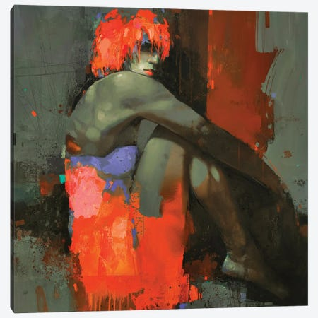 Bonfire Night Canvas Print #VIK35} by Viktor Sheleg Canvas Artwork