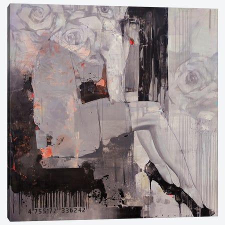 Ashen Flower Canvas Print #VIK38} by Viktor Sheleg Canvas Art Print