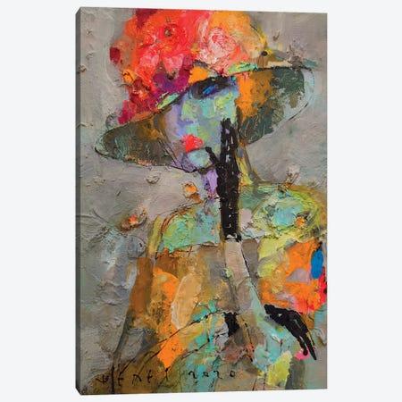 Pansies Canvas Print #VIK4} by Viktor Sheleg Canvas Print