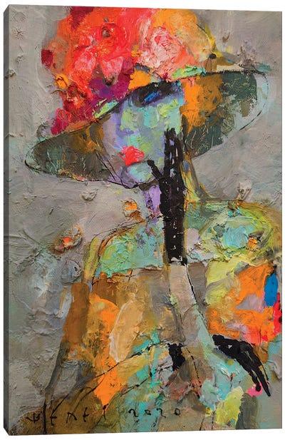 Pansies Canvas Art Print