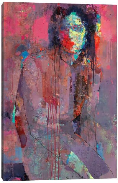 Plum jam Canvas Art Print