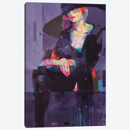 Mirage Purple Canvas Print #VIK59} by Viktor Sheleg Art Print
