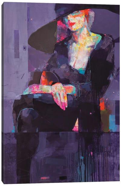 Mirage Purple Canvas Art Print