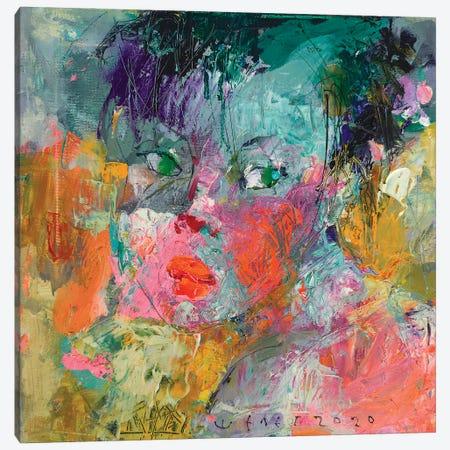 Young girl Canvas Print #VIK60} by Viktor Sheleg Canvas Artwork