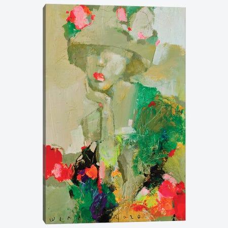 Flower Girl Canvas Print #VIK7} by Viktor Sheleg Canvas Art Print