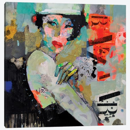 Girl Holiday Canvas Print #VIK9} by Viktor Sheleg Canvas Artwork