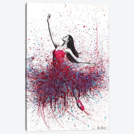 Strawberry Dancer Canvas Print #VIN103} by Ashvin Harrison Canvas Wall Art