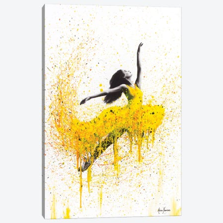 Sunflower Dancer Canvas Print #VIN105} by Ashvin Harrison Canvas Print