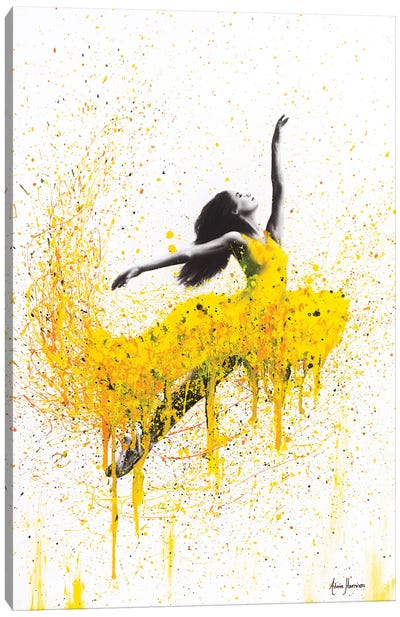 Sunflower Dancer Canvas Art Print