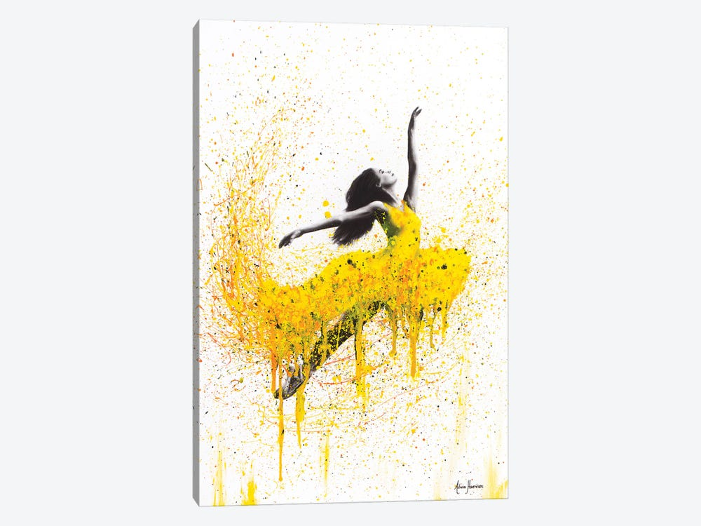 Sunflower Dancer by Ashvin Harrison 1-piece Canvas Wall Art