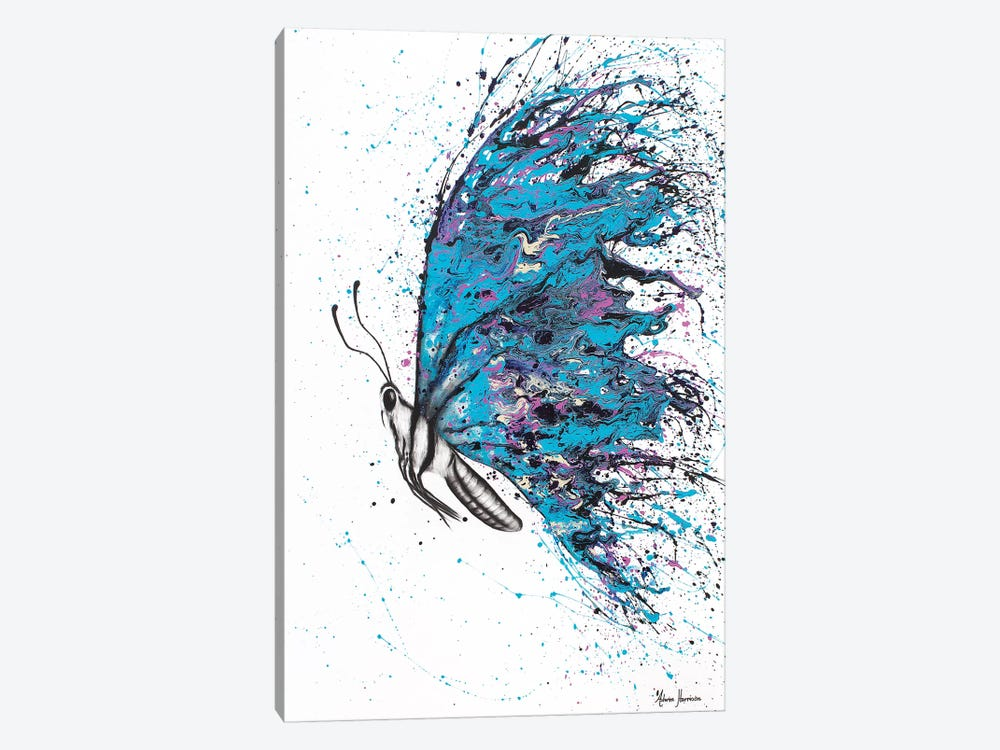 Sunny River Wings by Ashvin Harrison 1-piece Canvas Print