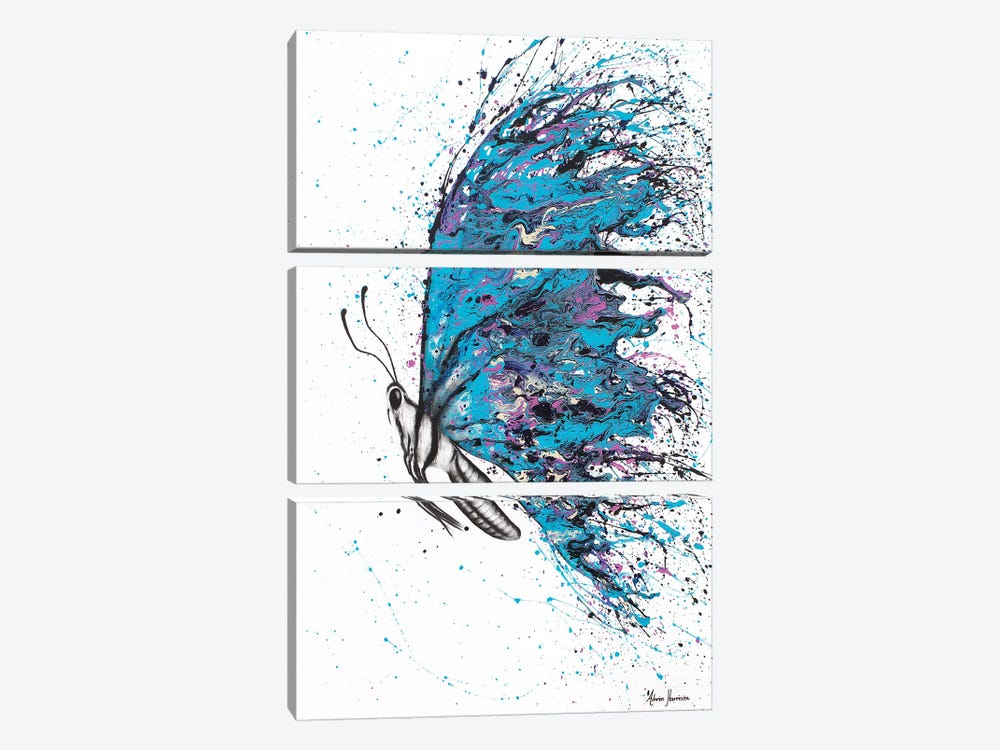 Sunny River Wings by Ashvin Harrison 3-piece Canvas Art Print