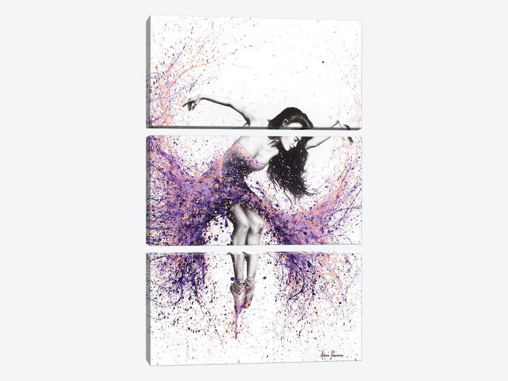 The Last Coral Dance by Ashvin Harrison 3-piece Canvas Art