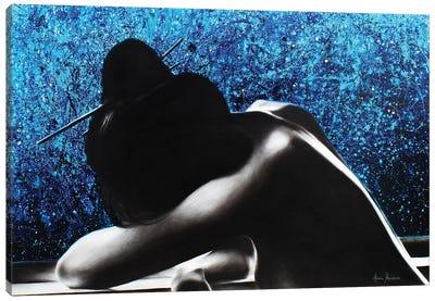 The Last Night Canvas Art Print