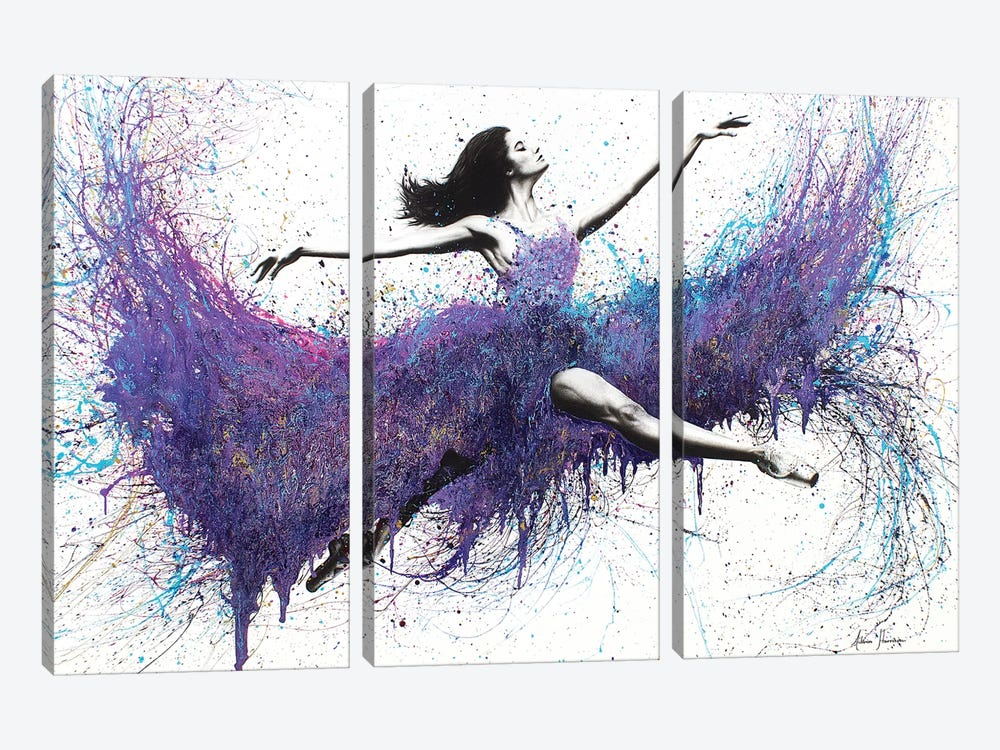 The Strength Within by Ashvin Harrison 3-piece Canvas Art