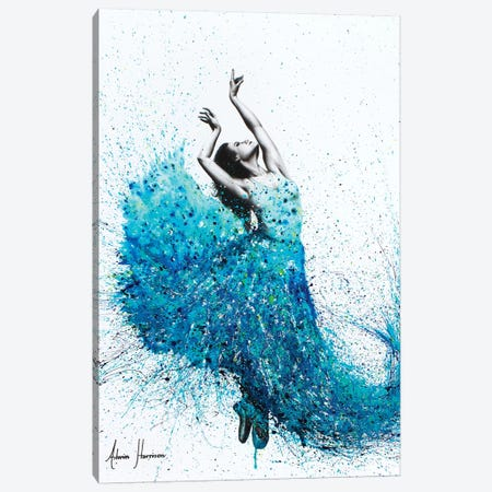 Tropical Reef Dance Canvas Print #VIN116} by Ashvin Harrison Canvas Artwork