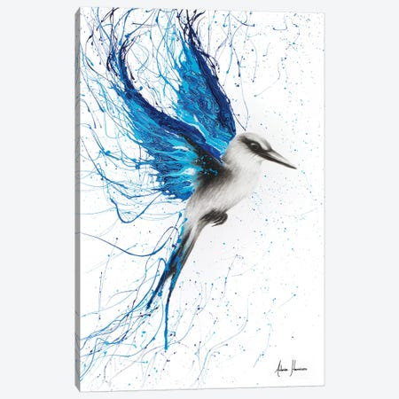 True Blue Canvas Print #VIN118} by Ashvin Harrison Art Print