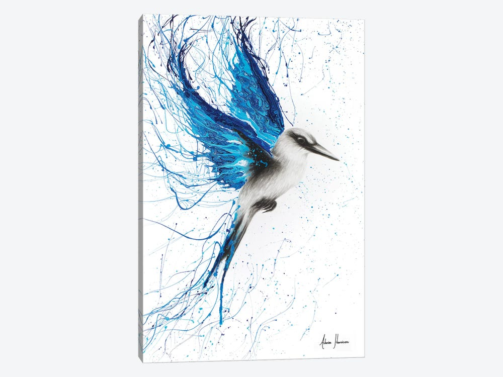 True Blue 1-piece Canvas Wall Art