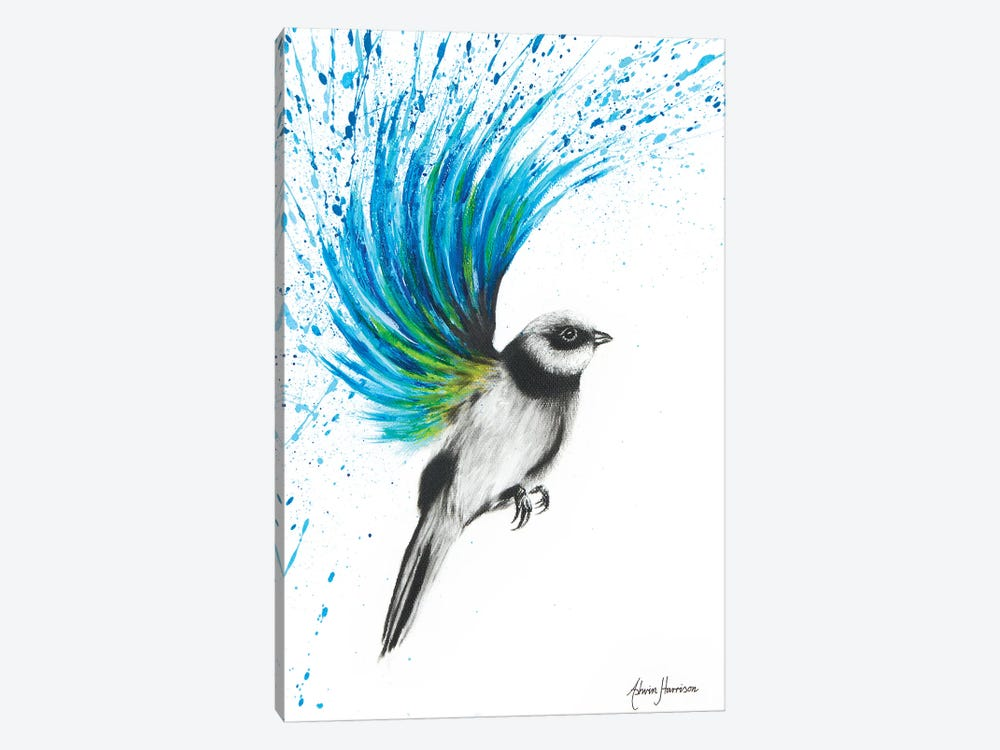 Turquoise Finch 1-piece Art Print