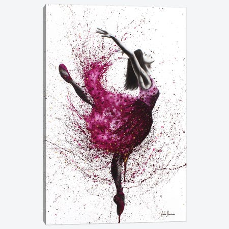Ballet Wines Canvas Print #VIN11} by Ashvin Harrison Canvas Wall Art