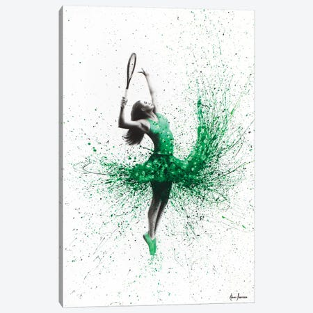 Wimbledon Woman Canvas Print #VIN125} by Ashvin Harrison Art Print