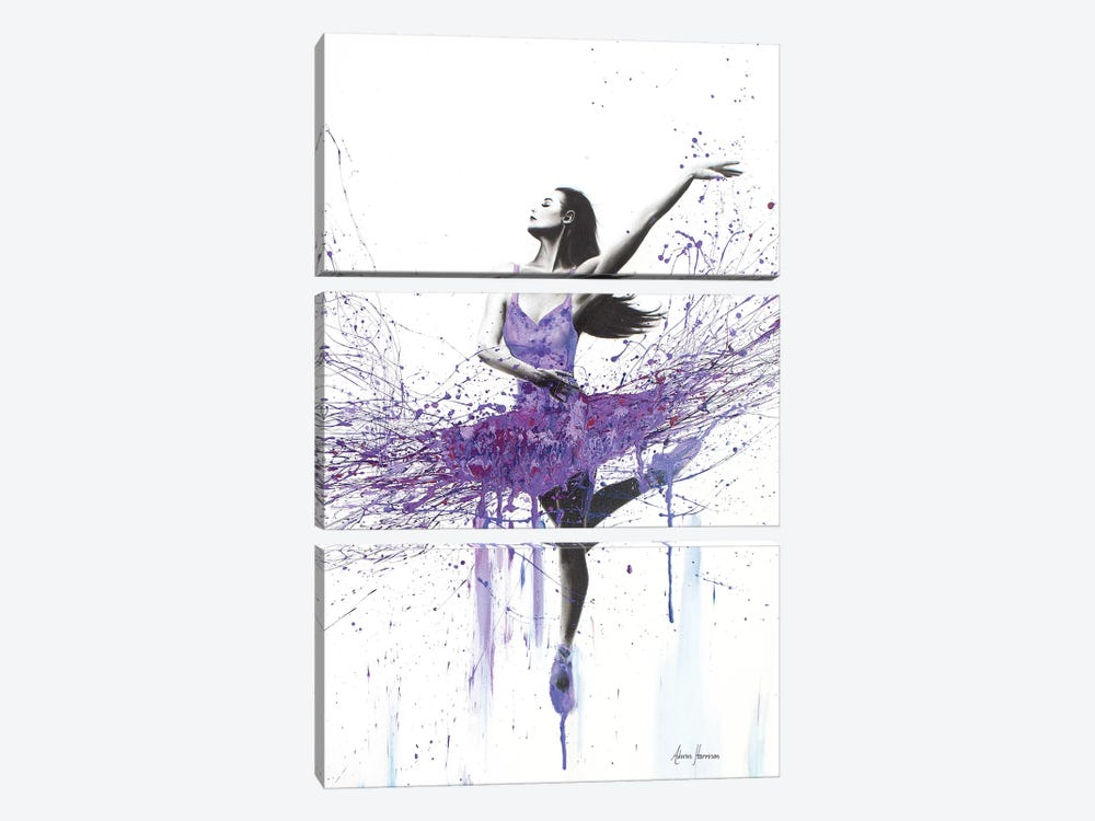 You Bought Blueberries by Ashvin Harrison 3-piece Canvas Art Print