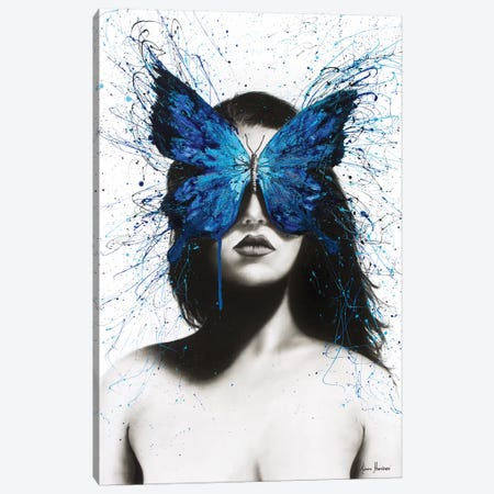 Butterfly Mind Canvas Print #VIN128} by Ashvin Harrison Canvas Wall Art