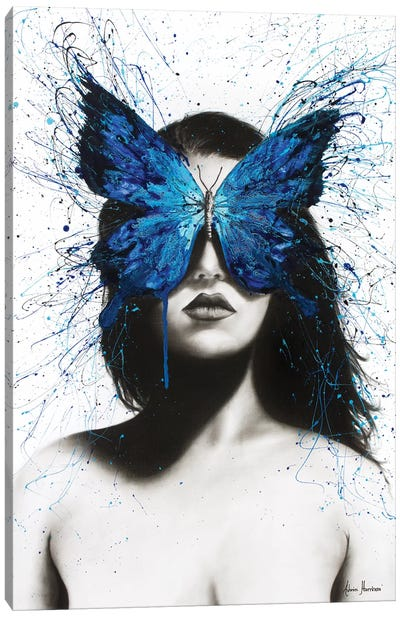 Butterfly Mind Canvas Art Print