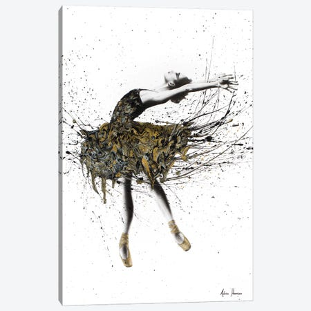 Black Swan Night Canvas Print #VIN12} by Ashvin Harrison Canvas Wall Art