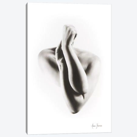Nude Woman Charcoal Study 55 Canvas Print #VIN133} by Ashvin Harrison Art Print
